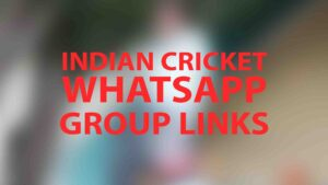Indian Cricket Whatsapp Group Links