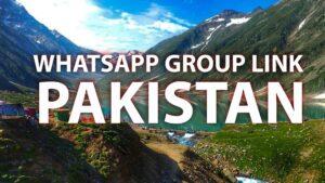 whatsapp group link pakistan