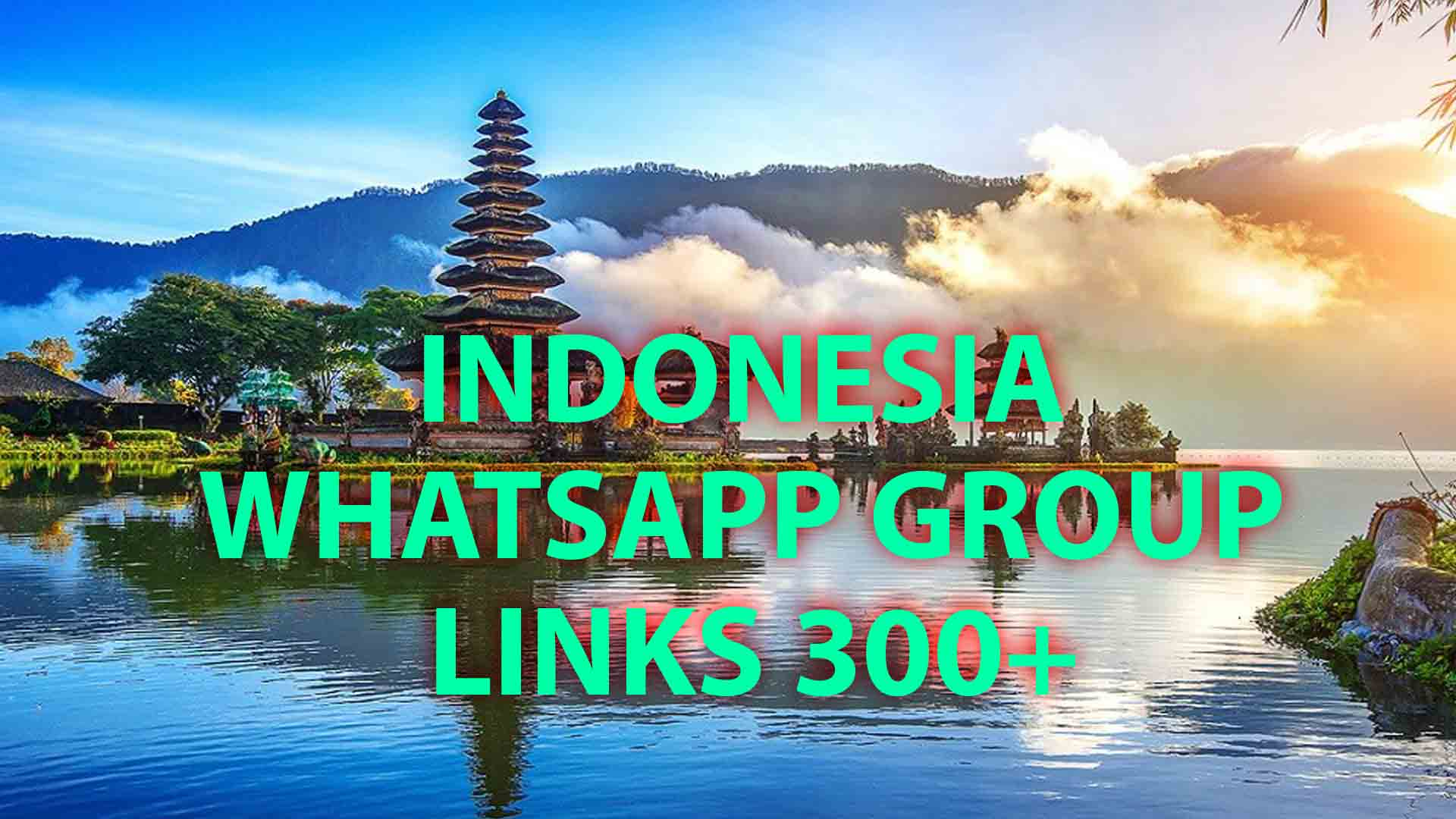 Indonesia whatsapp group Links 300+
