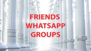 friends whatsapp groups
