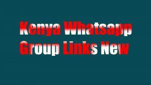 kenya whatsapp group links